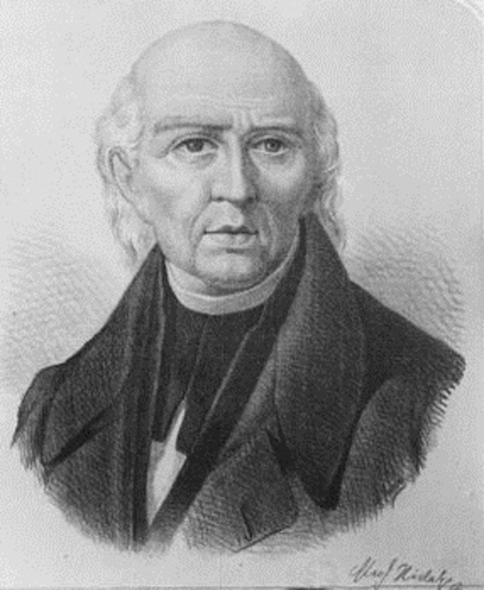 A portrait of Father Miguel Hidalgo, the revolutionary priest, known as the 'Washington of Mexico' who spearheaded the movement for Mexican Independence from Spanish rule.