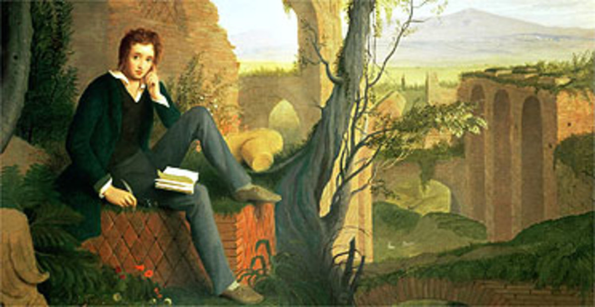 Percy Shelley was an atheist throughout his life and was the inspiration for such subversive fiction as Frankenstein.