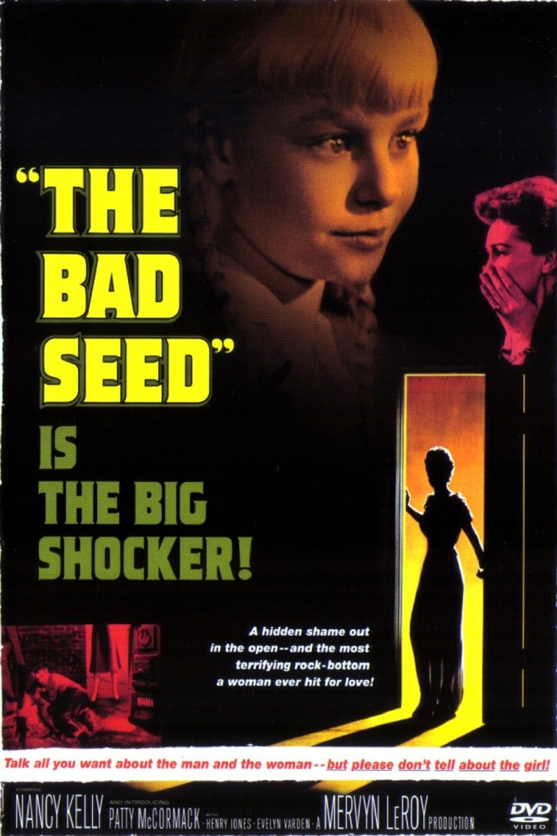 The Bad Seed helped pave the way for other movies involving creepy killer kids.