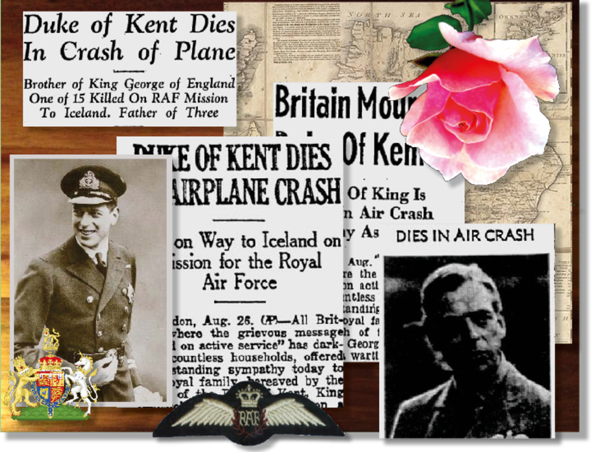 The death of Prince George of Kent