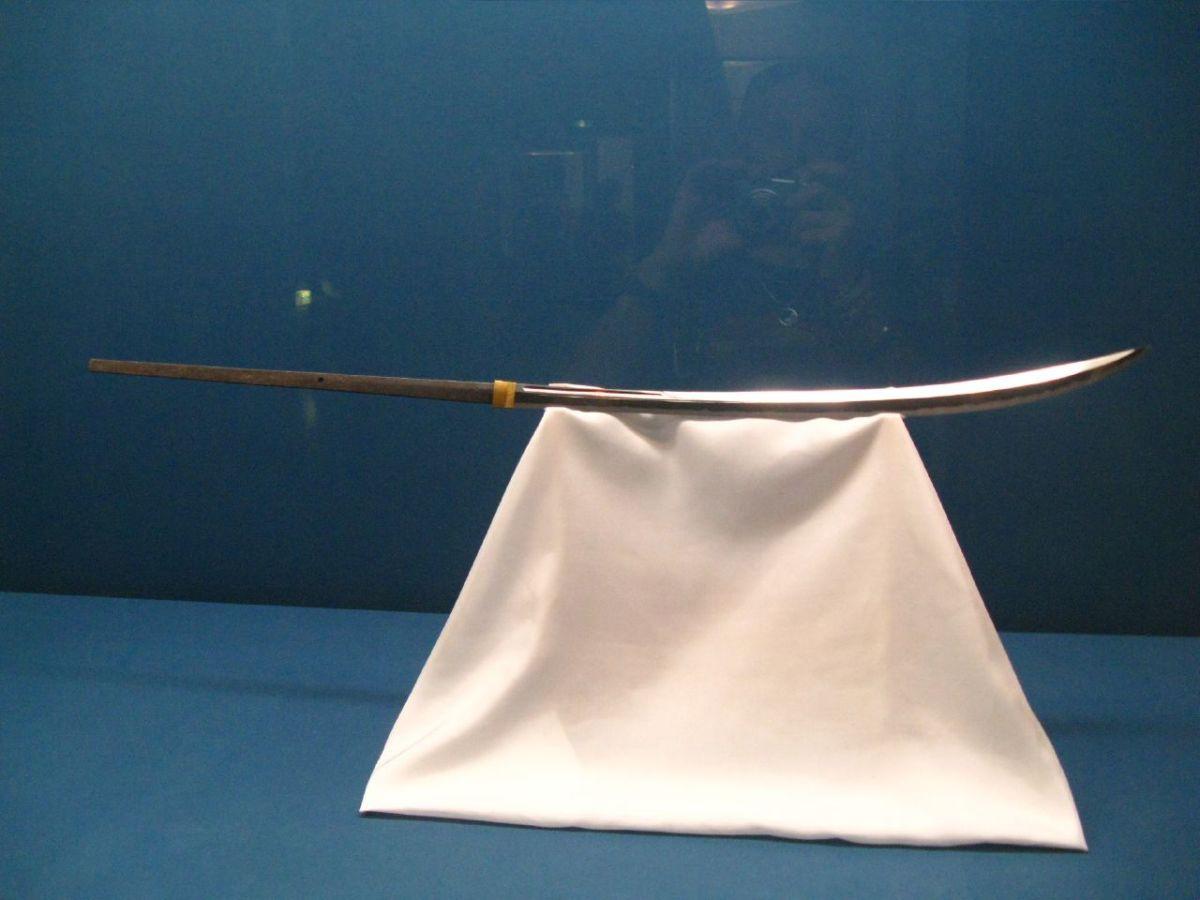 The naginata, used by the ninja.