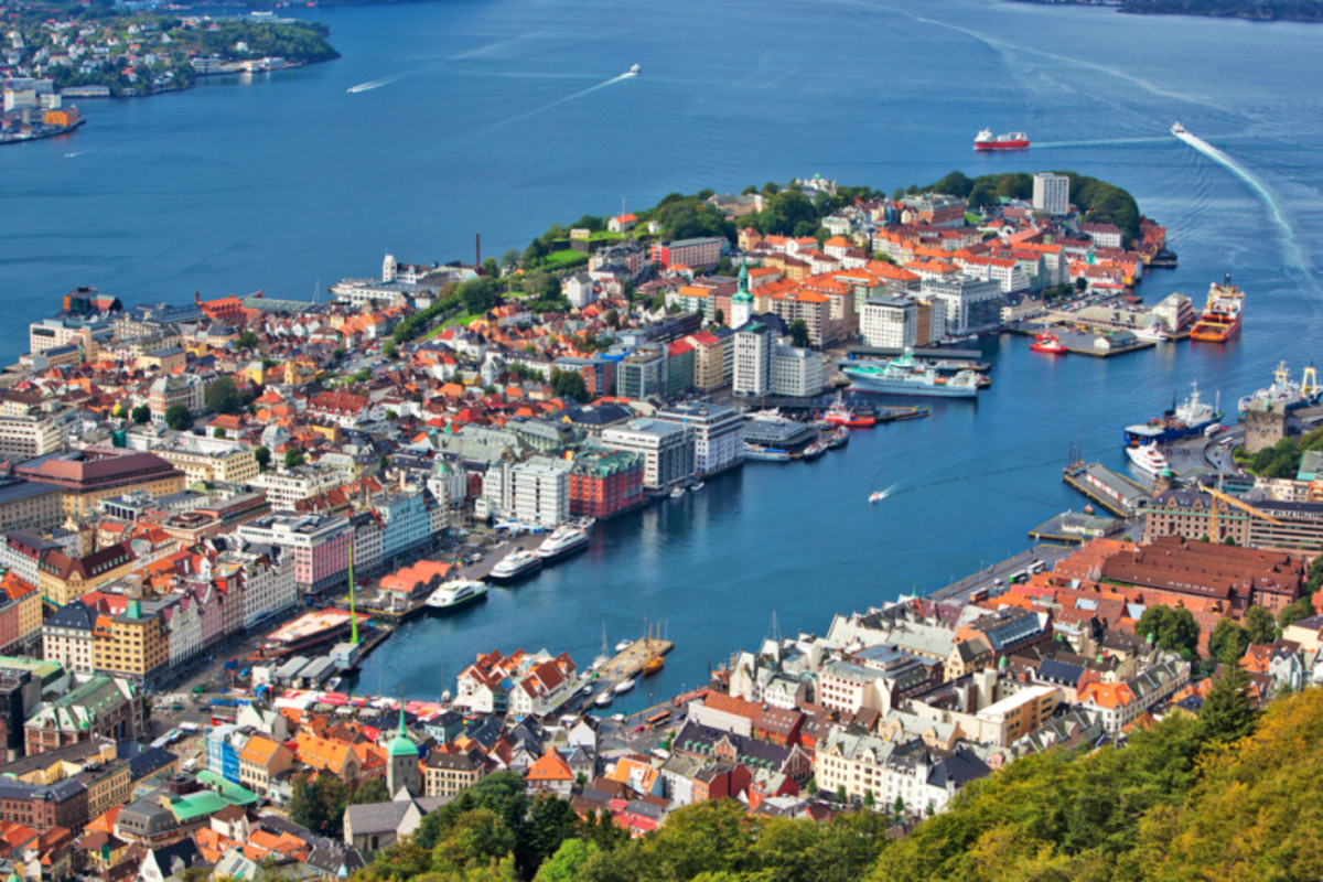 Bergen City Norway.