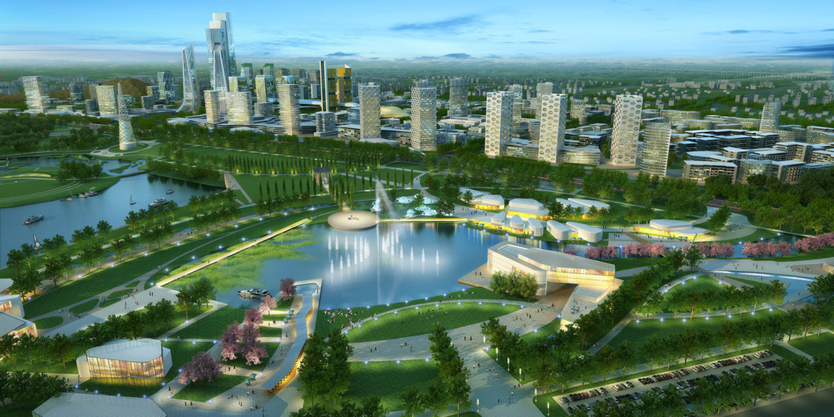 Future of Karamay City in China.