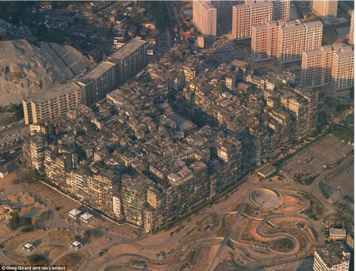 "Left Unchecked: Hong Kong's Kowloon then ""Walled City."""