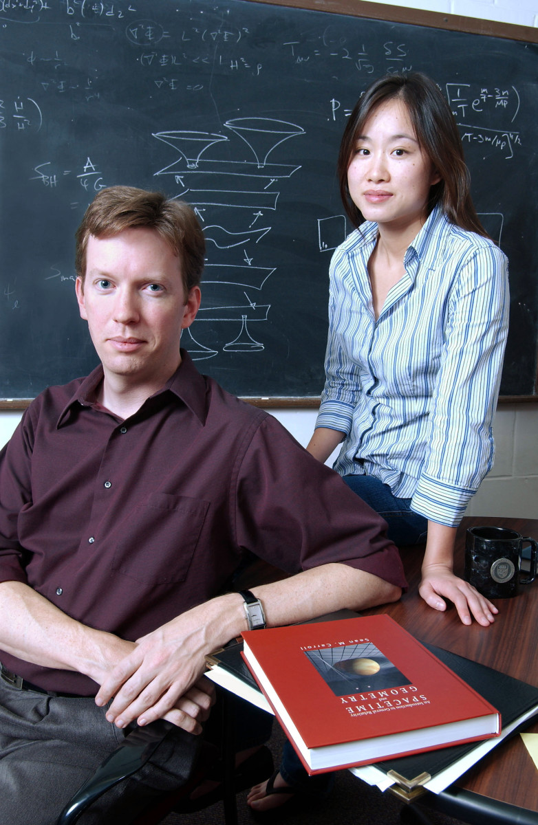 Sean Carrol and Jennifer Chen