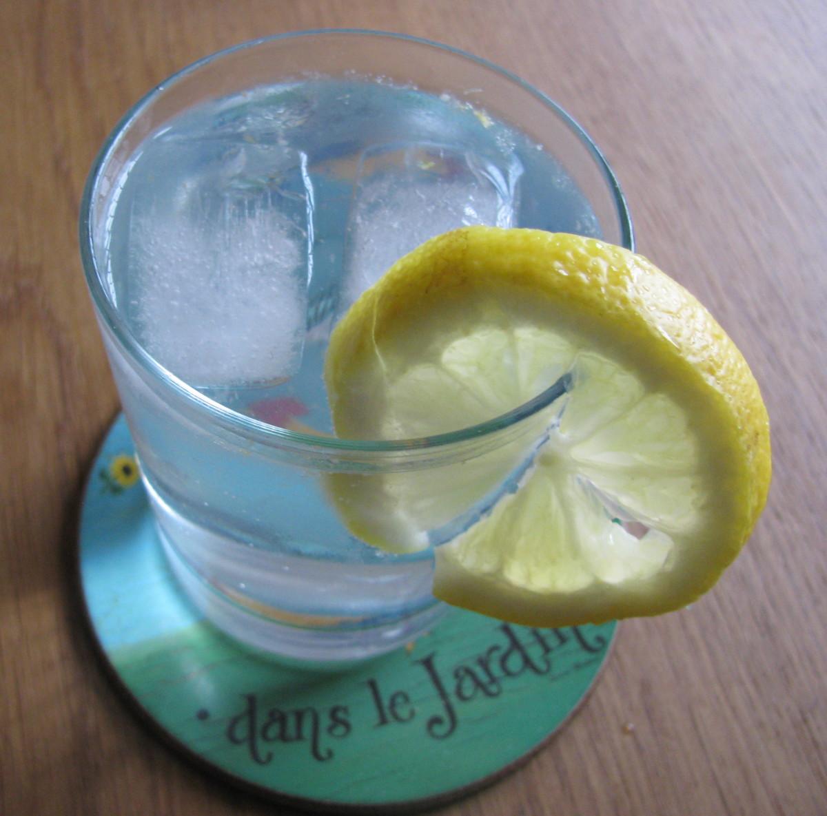 Ice & Lemon?  Summer in the Garden