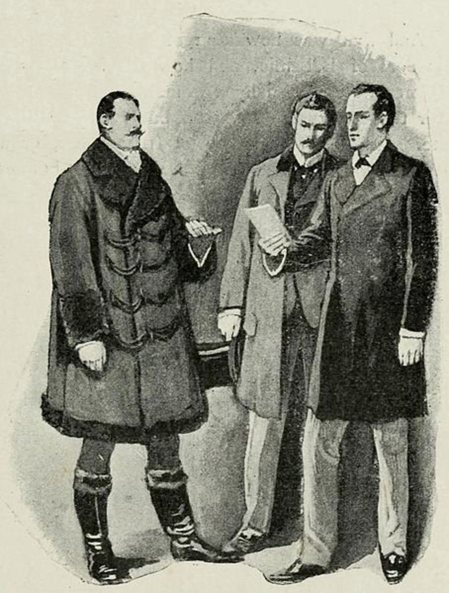 The Adventures of Sherlock Holmes, page 27 Sidney Paget (1860 - 1908) PD-life-70