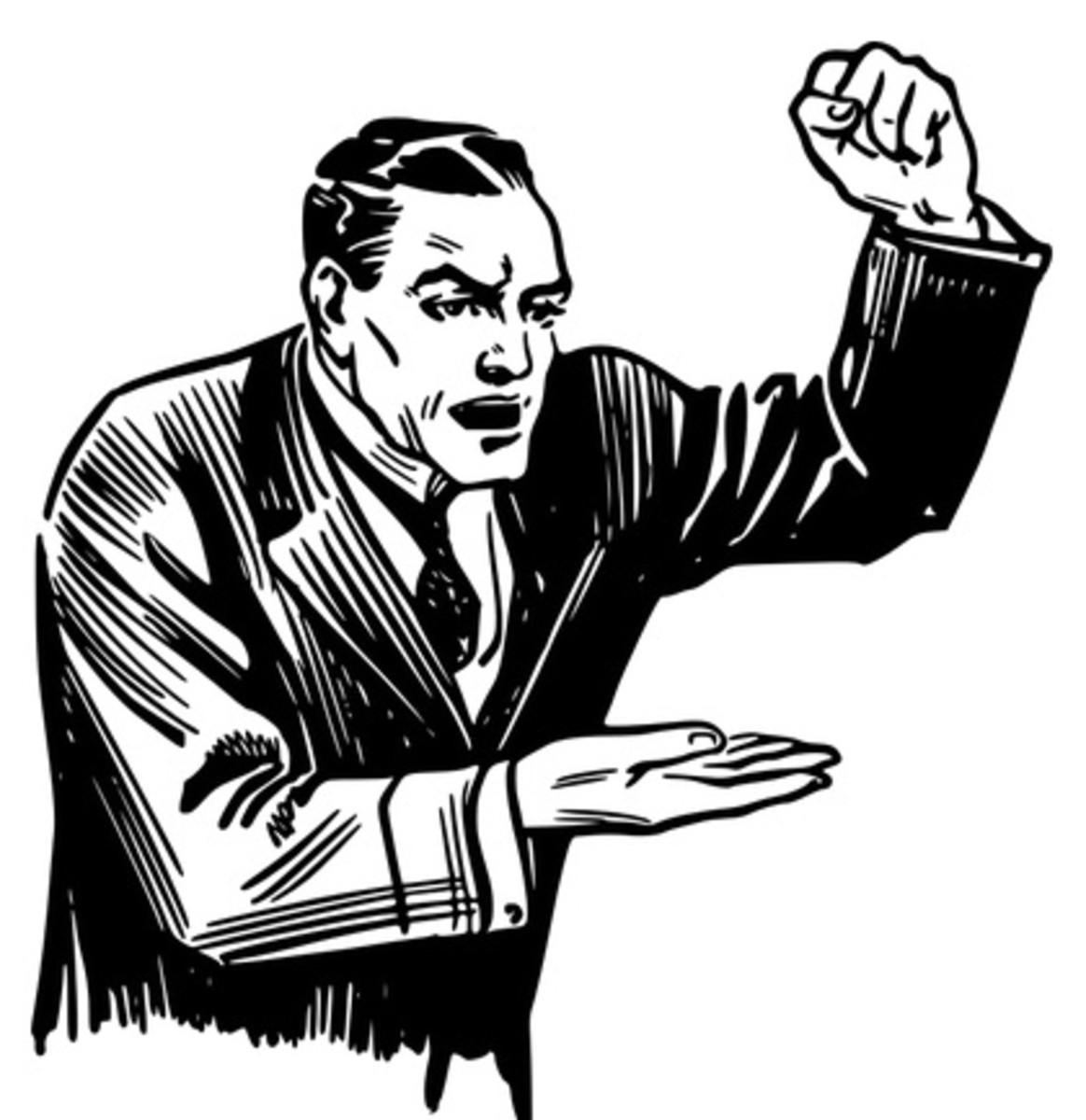 Debate (free clip art)