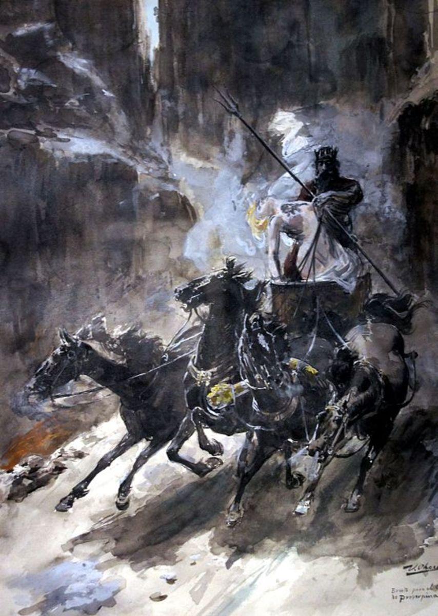 El Rapto de Proserpina by Ulpiano Checa, 1888