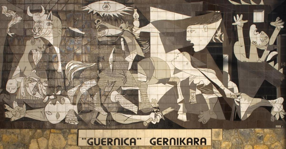 Fascinating facts about ten famous paintings for Mural guernica