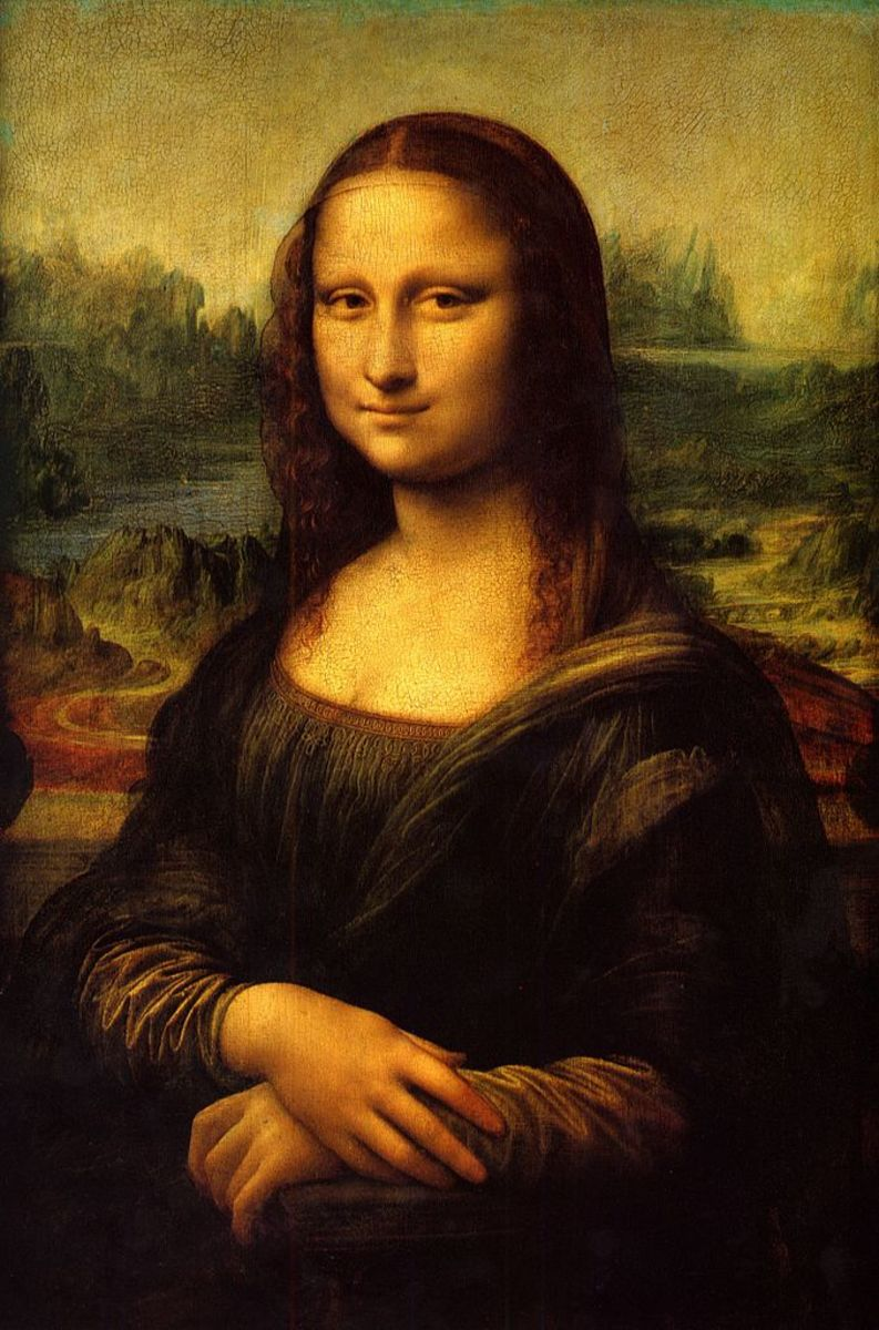 The ethereal beauty of Mona Lisa has captured the hearts of many for centuries. Leonardo Da Vinci's masterpiece is truly captivating.