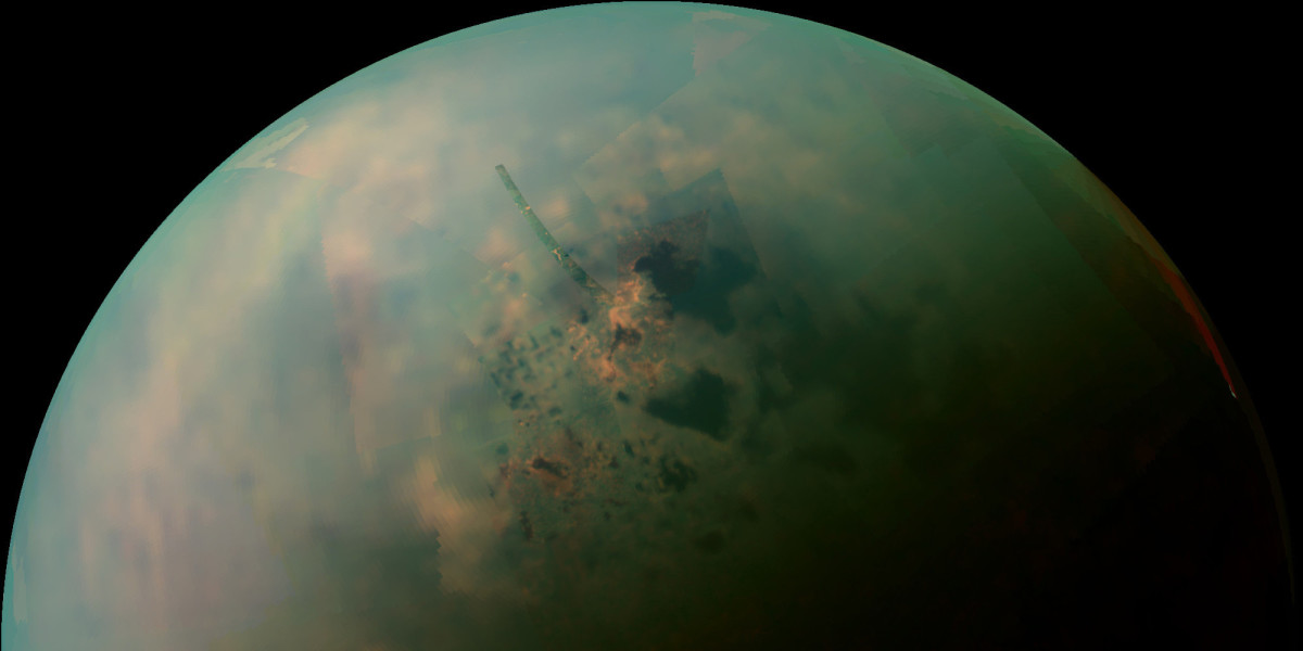 Lakes on Titan.