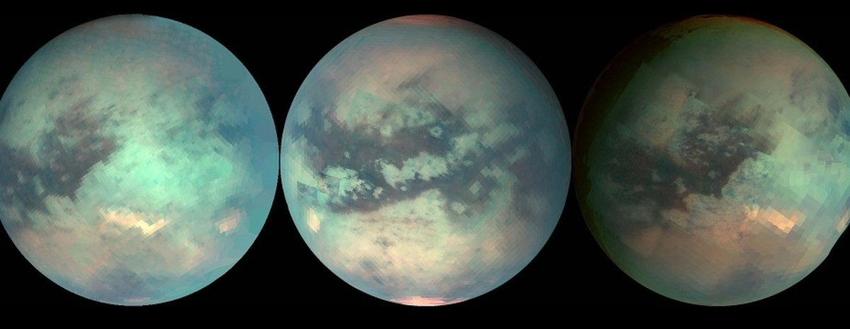 The entre surface of Titan revealed.