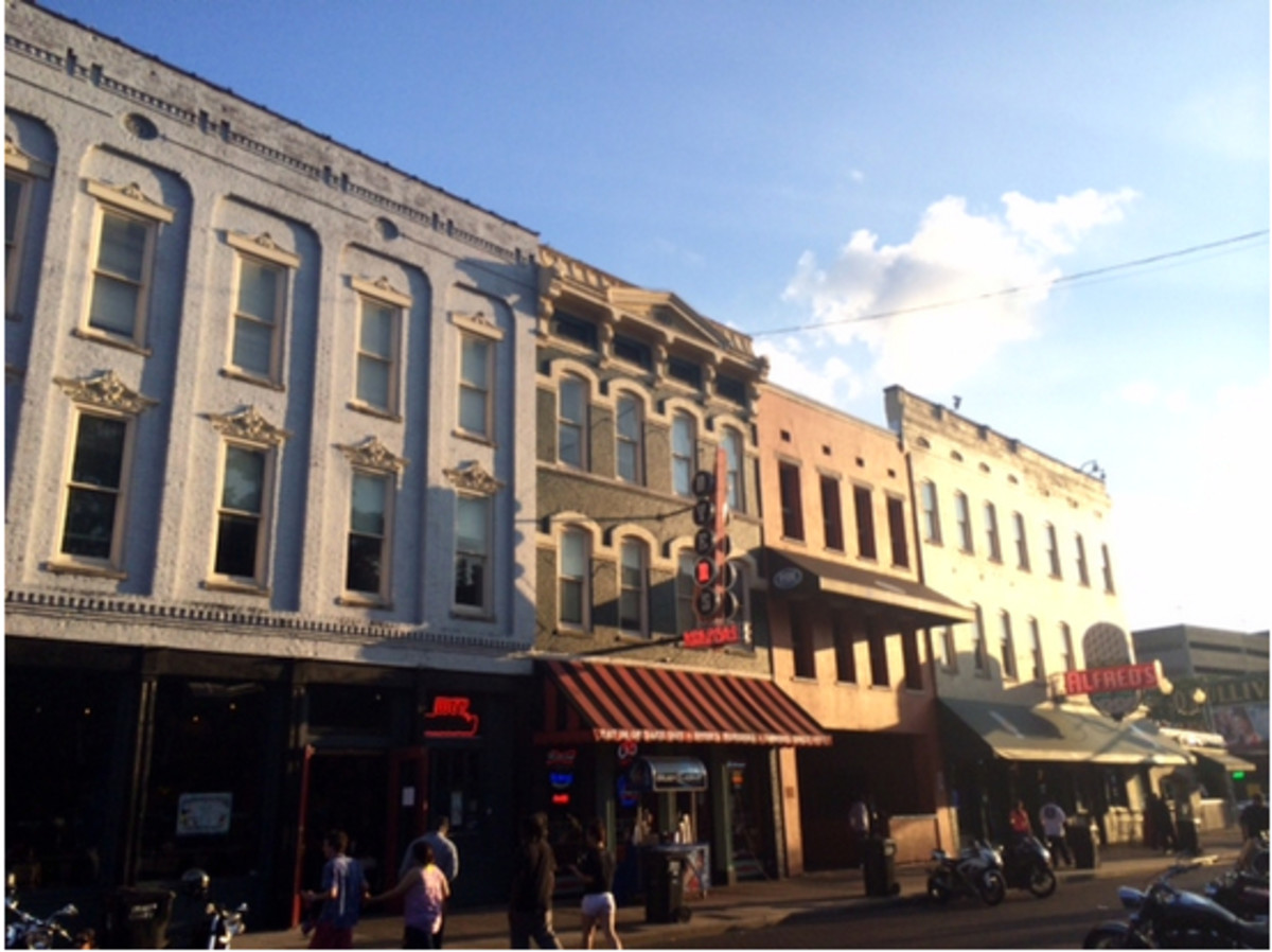 The Ernest Withers Museum is on the east end of historic Beale Street in Memphis, TN.
