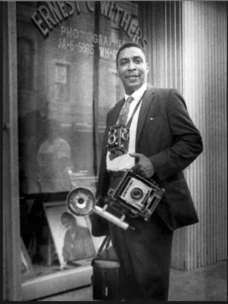 Ernest C. Withers had a photography studio on Beale Street in Memphis, TN