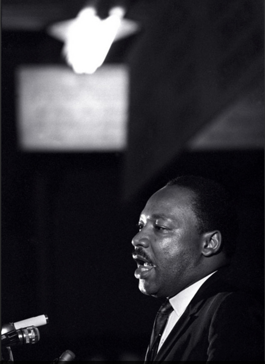Dr. Martin Luther King Jr. made his last public appearance at the Mason Temple church in Memphis, Tennessee, on April 3, 1968. The following day King was assassinated on his motel balcony.