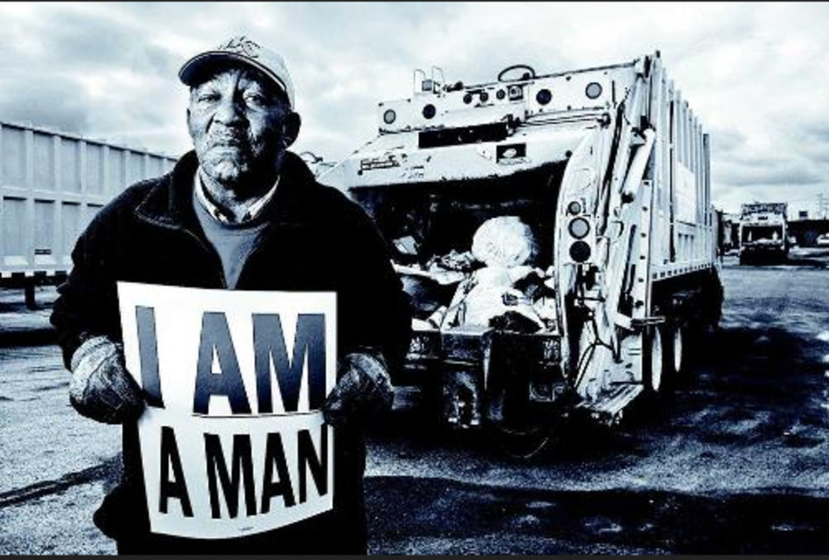 On Monday February 12, 1968 Sanitation workers in Memphis, Tennessee went on strike. Only 38 of the city's 130 trash trucks were in service.  Newly elected Mayor Henry Loeb declared the strike as being illegal.