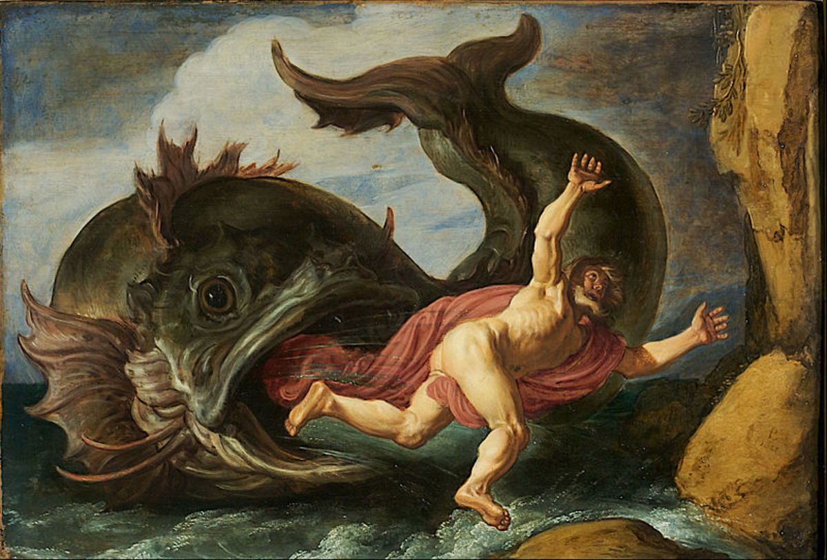 Jonah also prophesied of Nineveh's destruction.