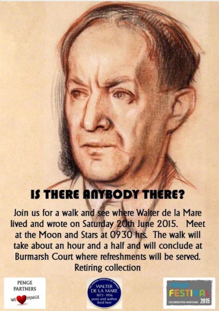 Walter de la Mare Poster