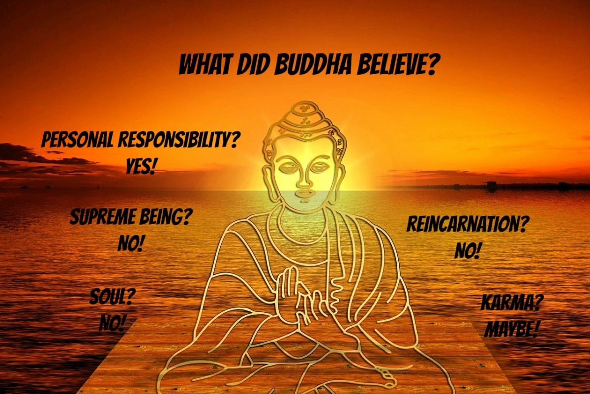 Buddha believed in personal responsibility. Spirituality comes from meditation, not from a Creator God.
