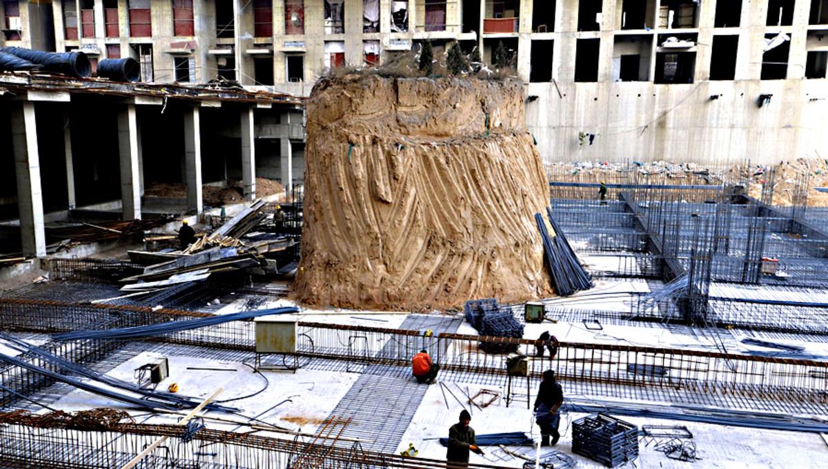 The Taiyuan nail grave mound
