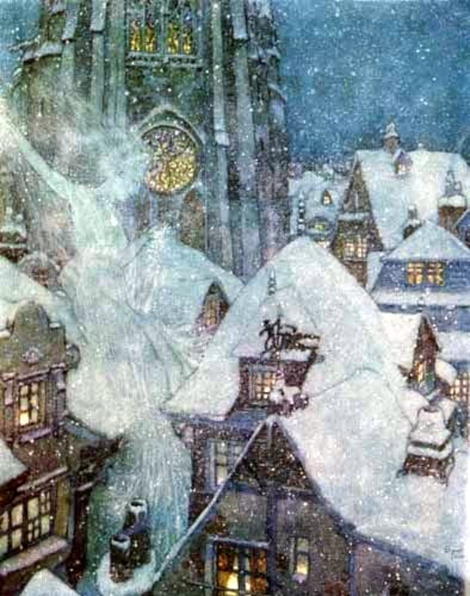 The Snow Queen by Edmund Dulac.