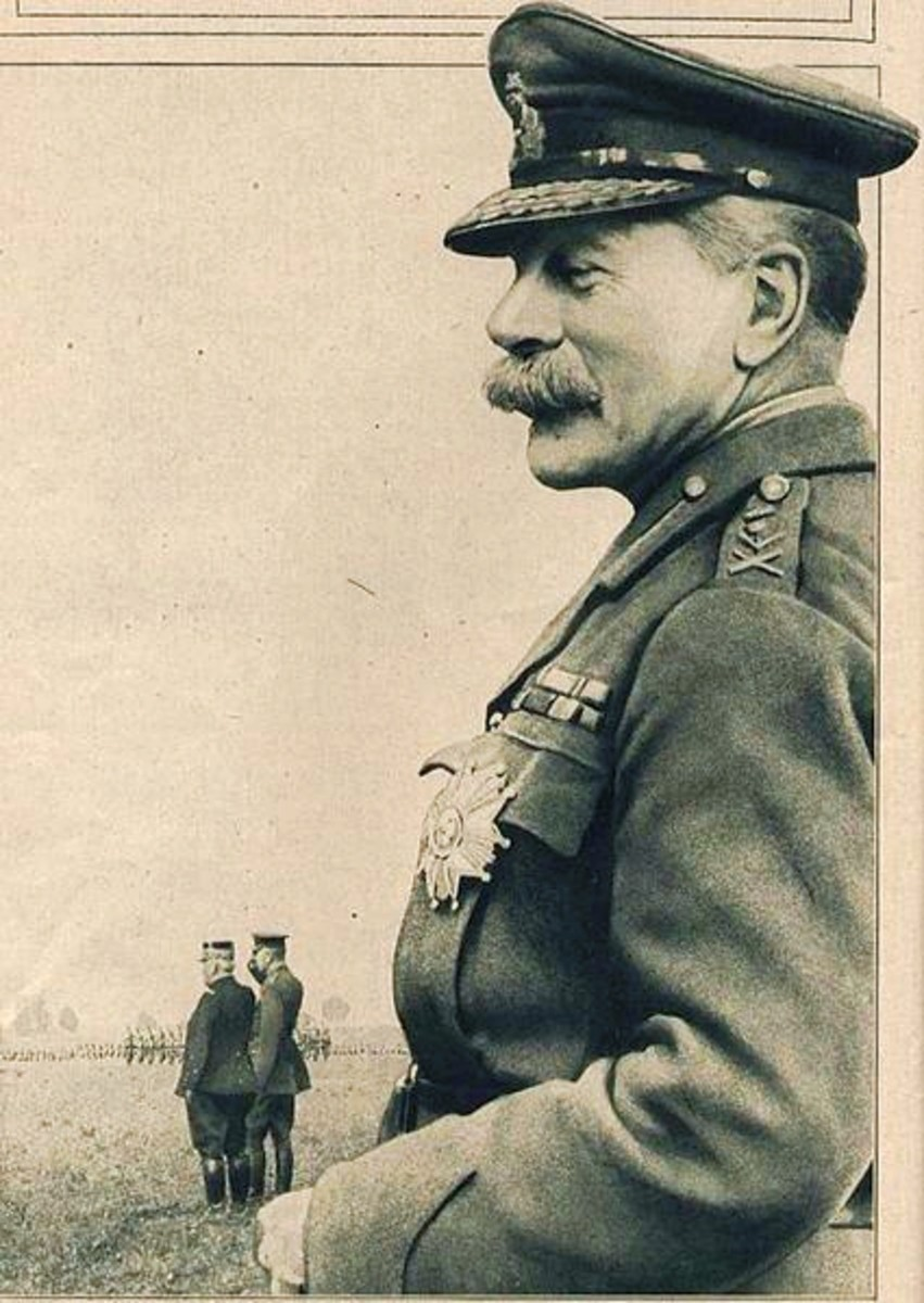 General Douglas Haig, Commander-in-Chief BEF (circa 1916)