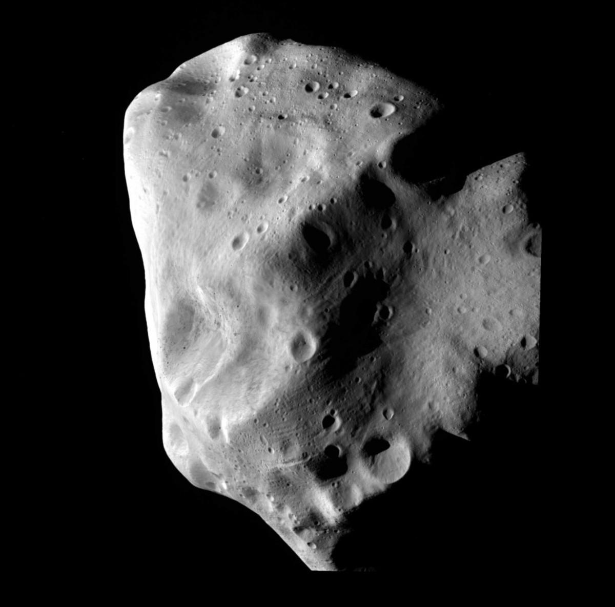 Asteroid Lutetia.