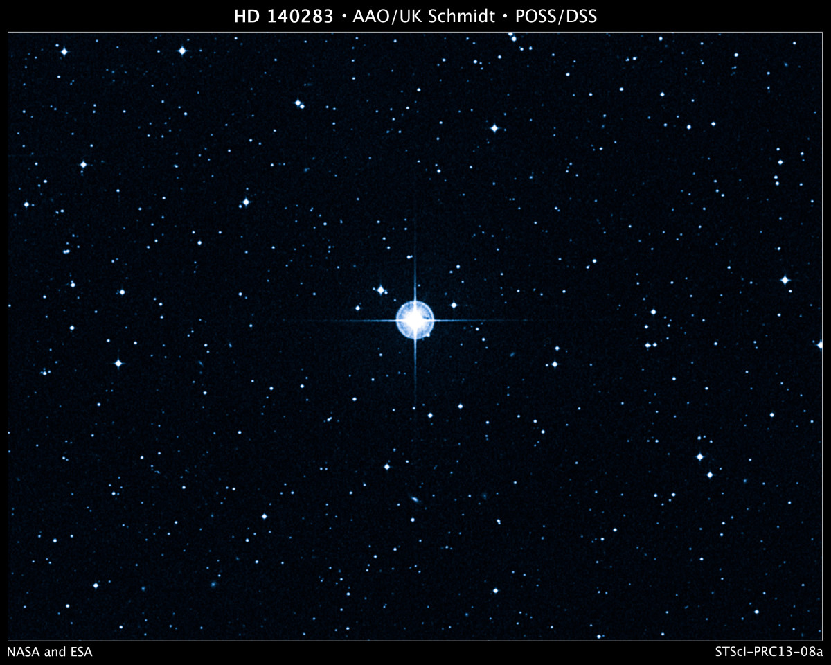 The Oldest Star, Methuselah.