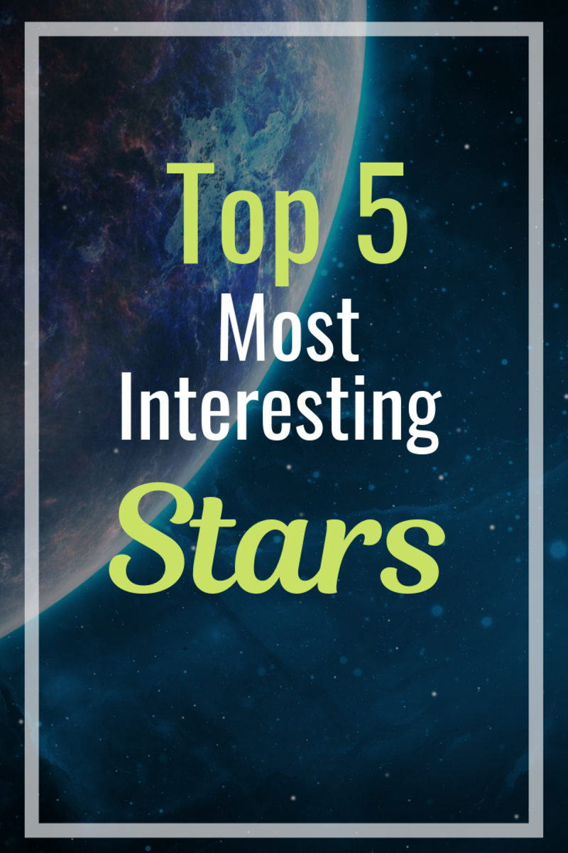 Pin the Curiosity! Top 5 Most Interesting Stars.