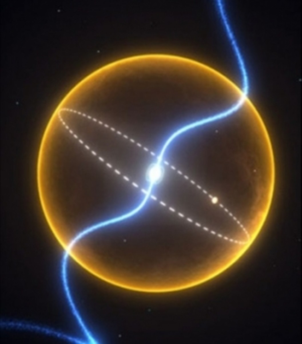 Planet PSR J 1719-1438b, orbiting the millisecond-pulsar PSR J 1719-1438b.