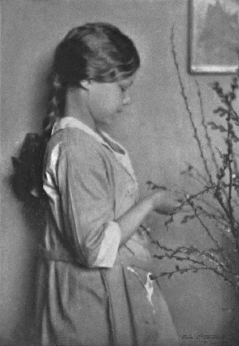 Hilda Conkling about age 10