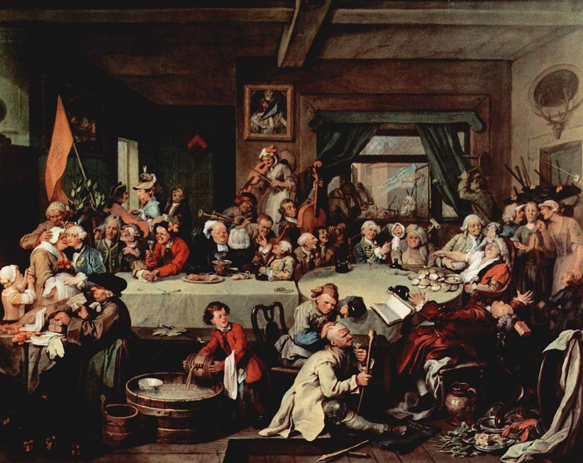 "William Hogarth, ""Give us Back our Eleven Days""."