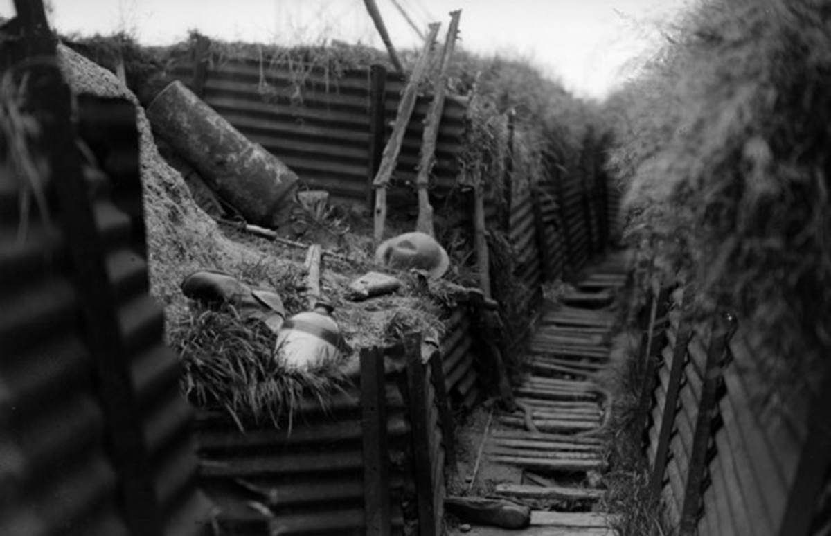 The trenches that Ernst Junger spent four years of his life fighting in are amazingly described in detail on their daily operations.