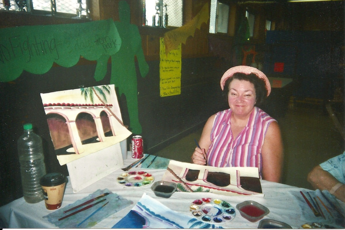 Art Therapy for Senior Citizens: What I Learned