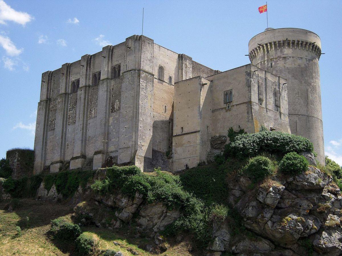 Falaise Castle, Normandy, France