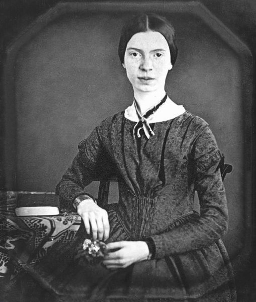 Daguerrotype of Dickinson circa age 17
