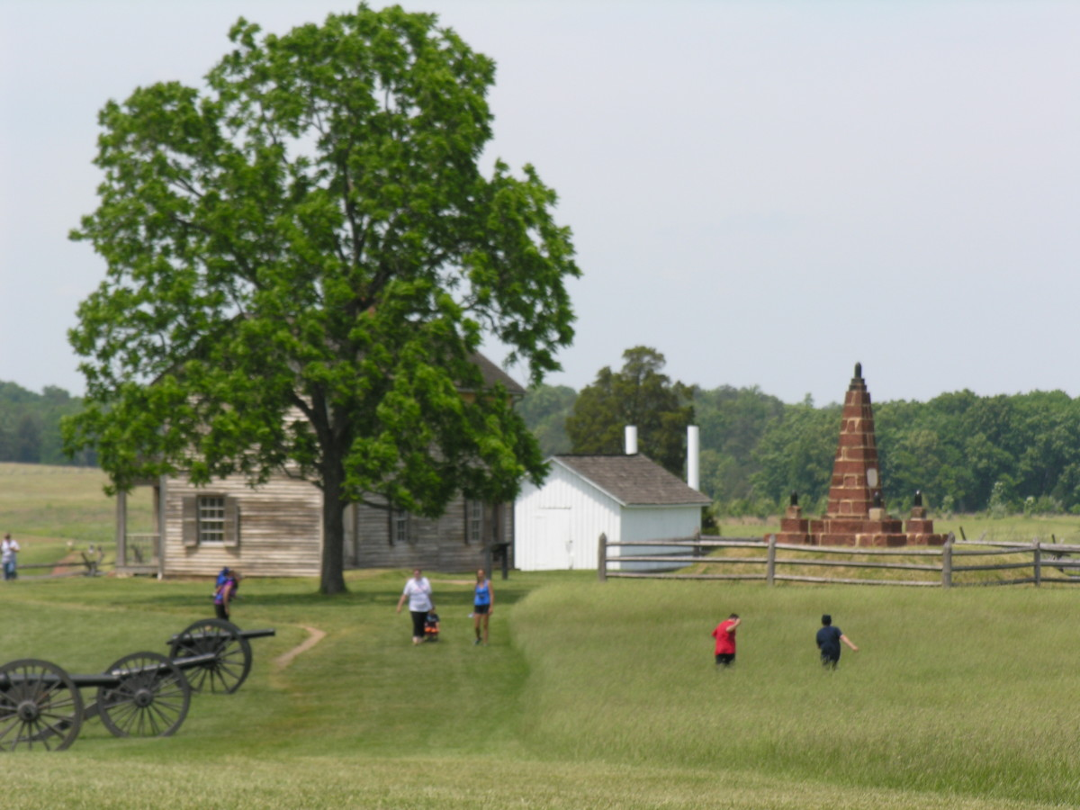 A view of the Manassas National Battlefield.