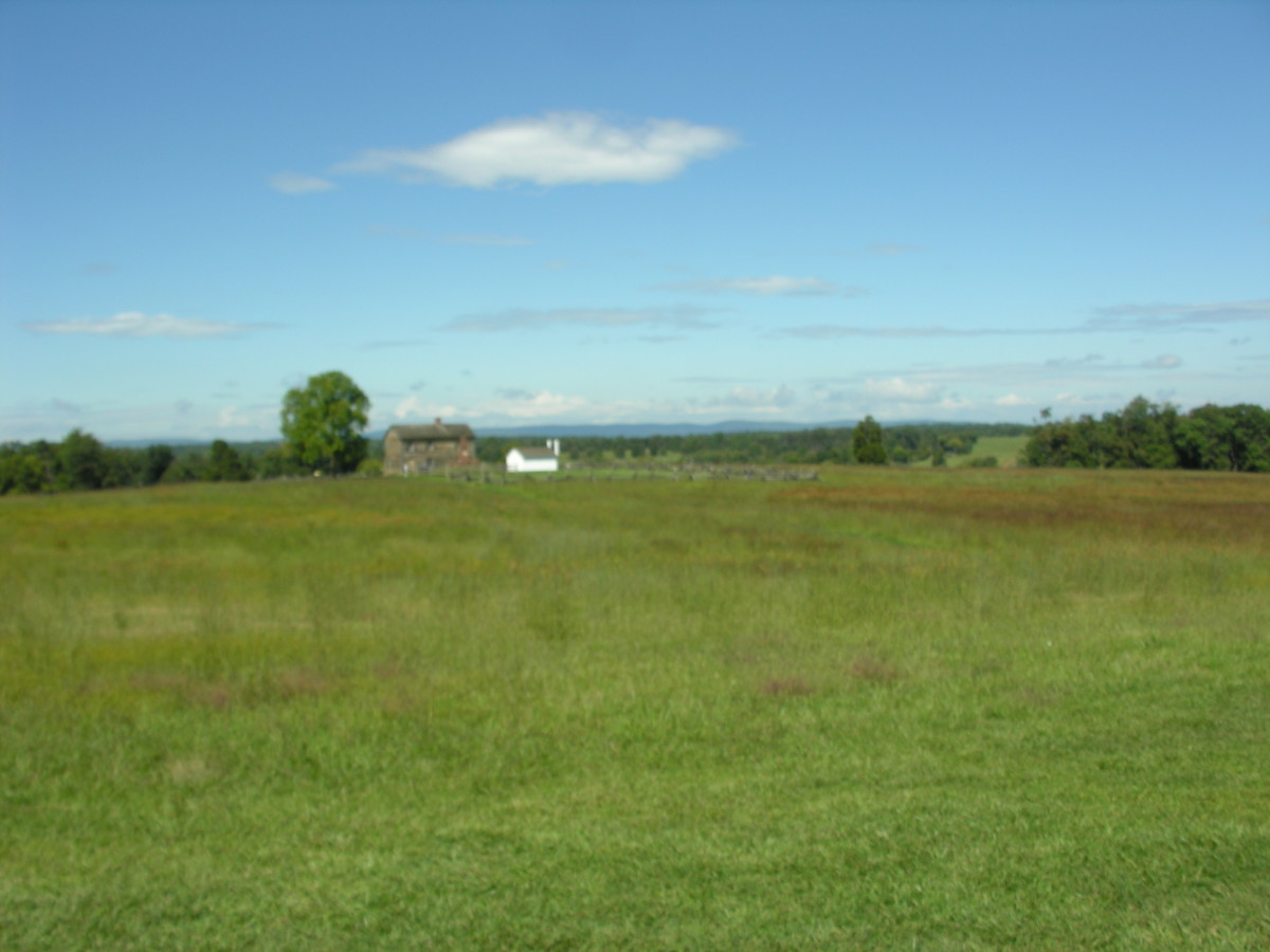 Manassas National Battlefield, September 2014.