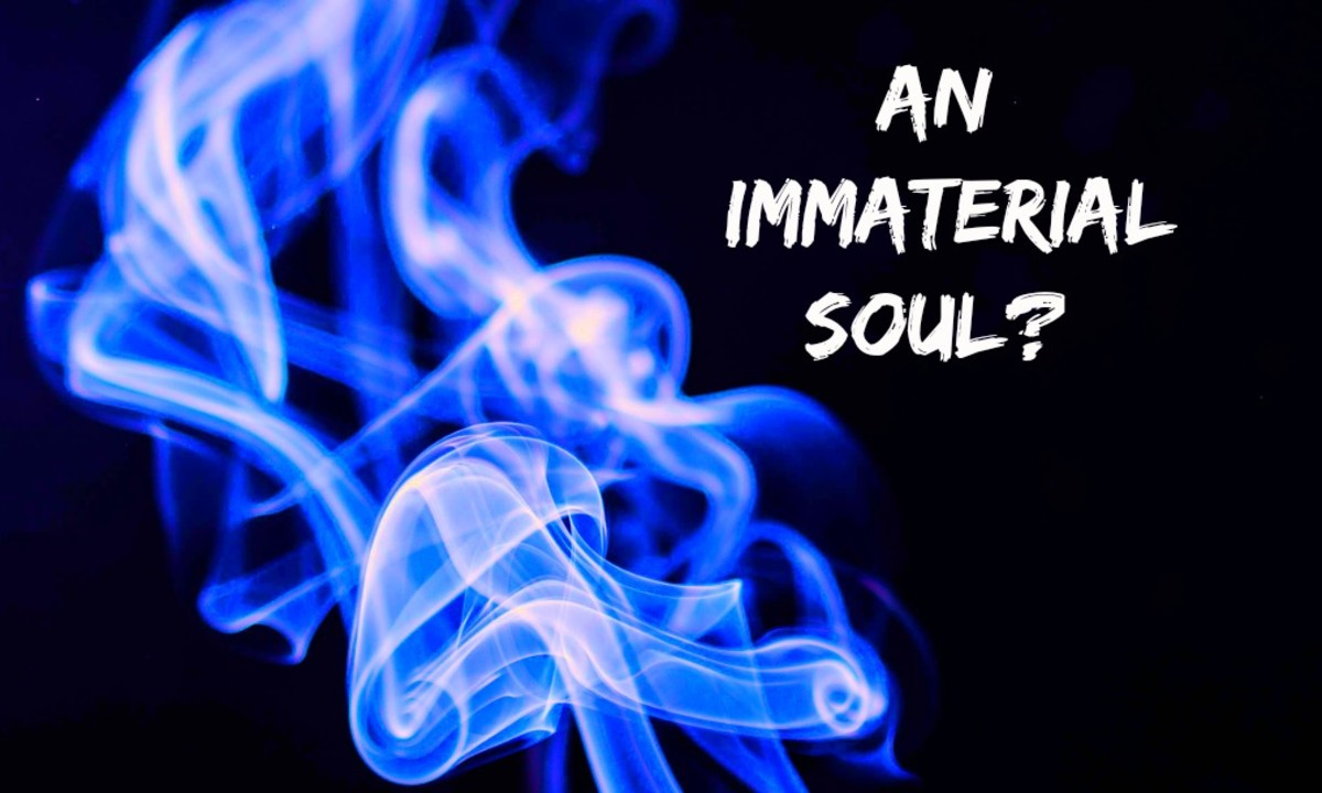 An immaterial soul is a paradox. By definition it does not exist because everything that exists is made of matter.