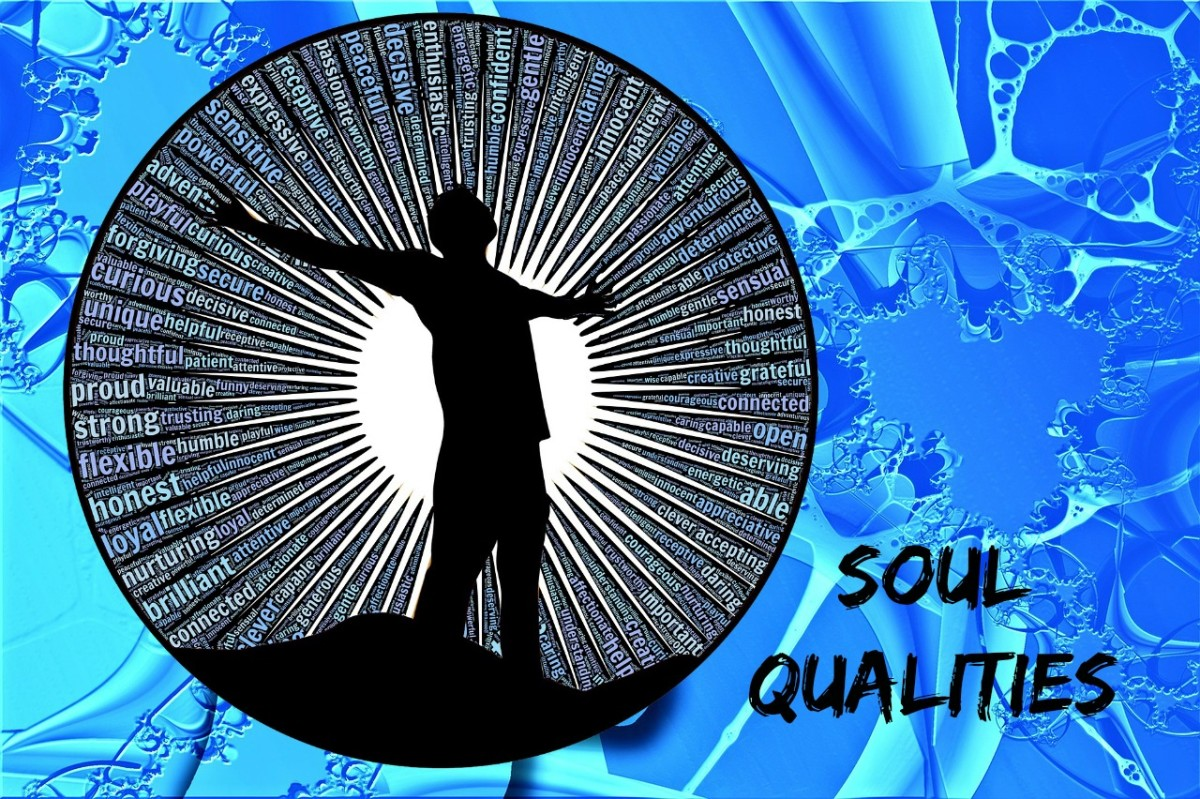 Are we born with certain soul qualities or does our free will determine who we are?