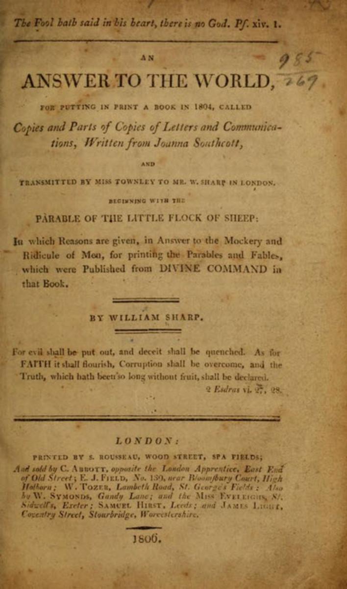One of Southcott's Many Books