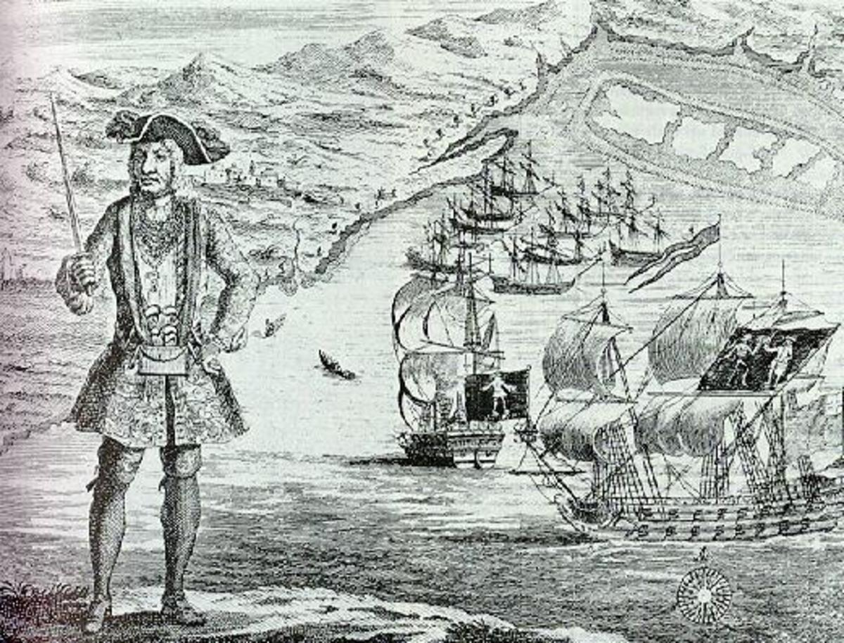 Bartholomew Roberts was a very successful pirate, and among the last of his kind.