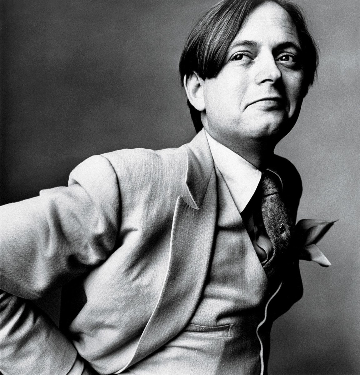 Tom Wolfe by Irving Penn - 1966