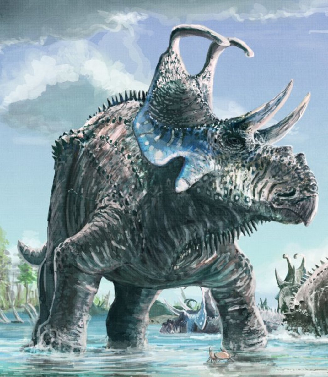 Machairoceratops as depicted by Mark Witton.
