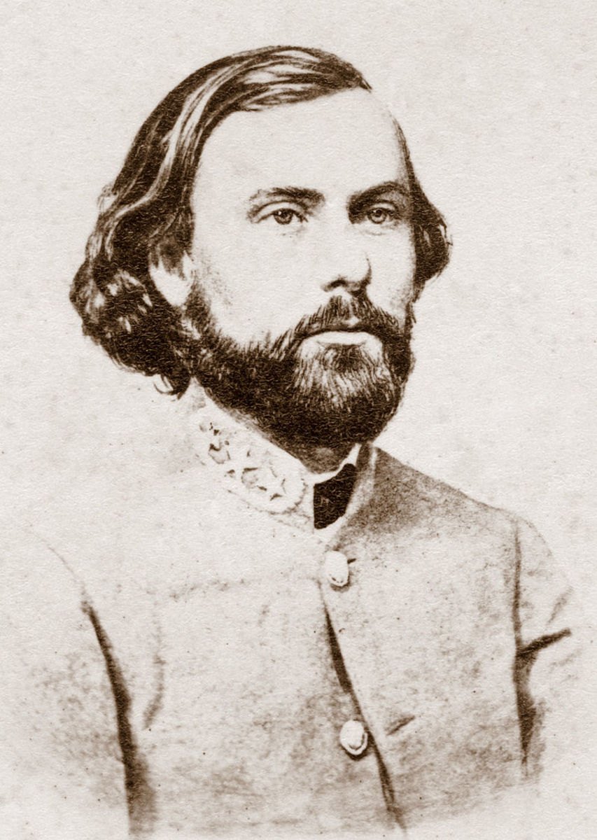 Thomas C. Hindman would lead the Confederate army in the field after the death of Ben McCulloch at the Battle for Pea Ridge.