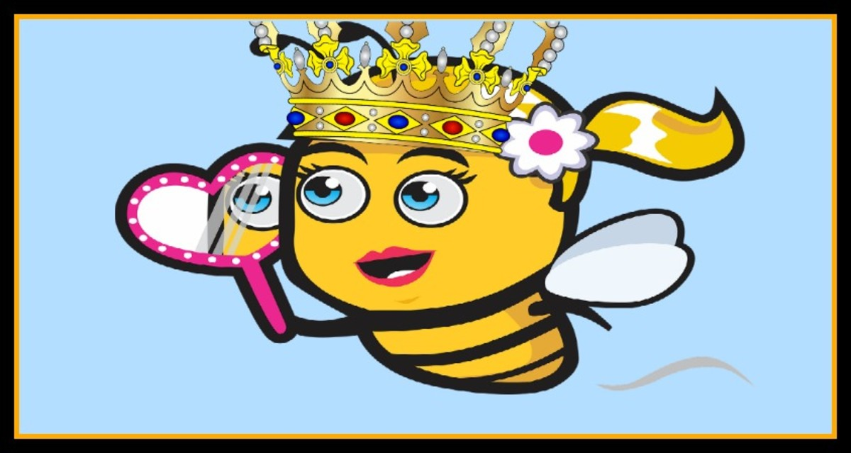 "The human ""queen bee"" is more about vanity and control than about service."