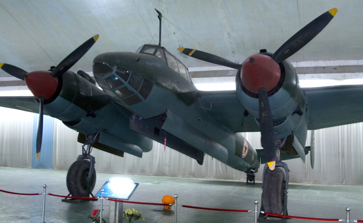 Tupolev Tu-2 Soviet high-speed daylight bomber one of the Soviet's best aircraft in the Second World War. Top speed 395mph it played an important role in the Red Army's final offensives over 2,257 were built.