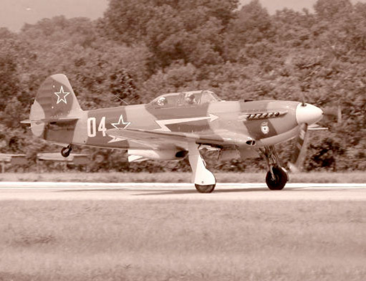 Near the end of the Second World War, the Yak-9 was the first Soviet fighter aircraft to shoot down a Messerschmitt Me262 jet.