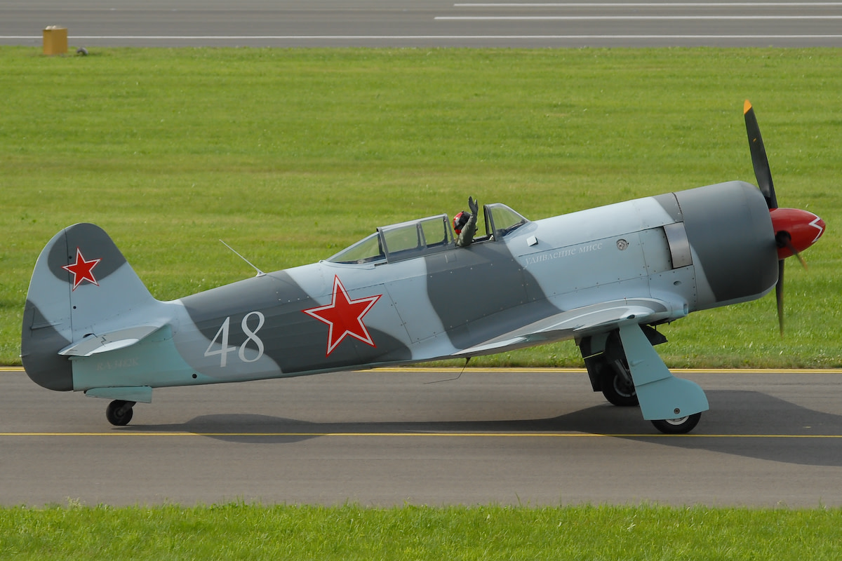 Yakovlev -Yak-3 Soviet fighter that was much liked by pilots. It was one of the smallest and lightest combat fighters used by any nation in the WWII. It was a great dogfighter considered superior to the P-51 and the Spitfire. Top speed of 447mph
